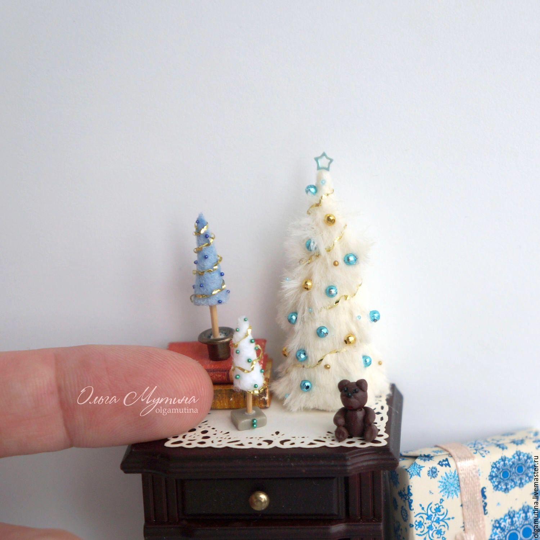 buy mini christmas trees on livemaster online shop
