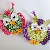 Работы для детей, ручной работы. Ярмарка Мастеров - ручная работа Птицы крючком. Handmade.
