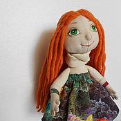 Куклы и игрушки ручной работы. Ярмарка Мастеров - ручная работа Куколка Рыжик. Handmade.