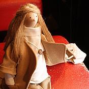 Куклы и игрушки ручной работы. Ярмарка Мастеров - ручная работа Городское утро. Кофе со сливками.. Handmade.