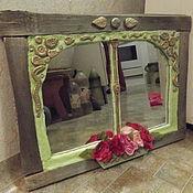 """Для дома и интерьера ручной работы. Ярмарка Мастеров - ручная работа зеркало """"Прованс"""". Handmade."""