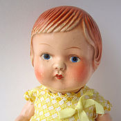 Куклы и игрушки ручной работы. Ярмарка Мастеров - ручная работа Антикварная кукла Машута. Handmade.