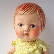 Винтаж ручной работы. Ярмарка Мастеров - ручная работа Антикварная кукла Машута. Handmade.