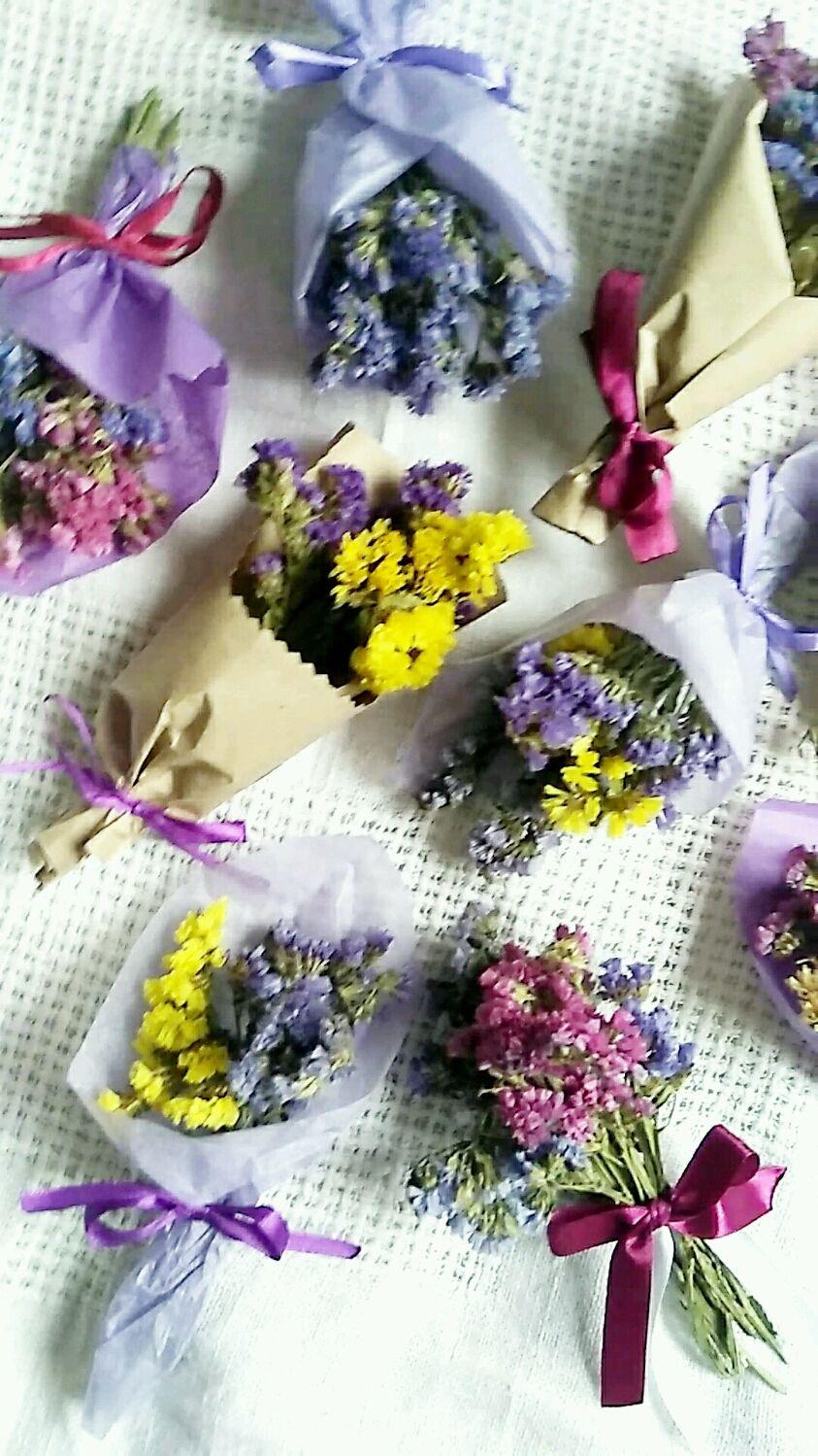 Букетики комплименты мини сухоцветы, Букеты, Москва,  Фото №1