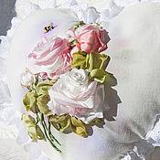 """Для дома и интерьера ручной работы. Ярмарка Мастеров - ручная работа Декоративная подушка """"Dreams of love"""". Handmade."""