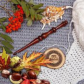 Материалы для творчества handmade. Livemaster - original item Crochet hook 7#35. Handmade.