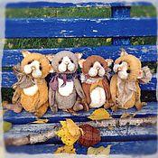 """Куклы и игрушки ручной работы. Ярмарка Мастеров - ручная работа Котики тедди. Коллекция """"Жизнь удалась!"""". Handmade."""