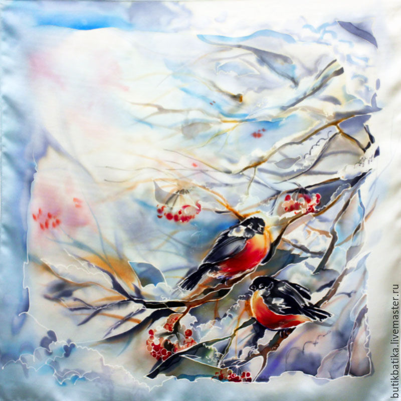 н туровникова птицы батик
