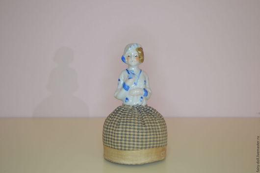 Винтажные куклы и игрушки. Ярмарка Мастеров - ручная работа. Купить Антикварная кукла-половинка - Half doll. Handmade. Фарфор, винтаж