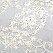 Материалы для творчества handmade. Livemaster - original item Luxury fabric for curtains, Valerie. Handmade.