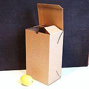 """Материалы для творчества ручной работы. Ярмарка Мастеров - ручная работа коробка """"Простая -19"""" 15х10х26 см, высокая прямоугольная. Handmade."""
