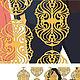 Текстиль, ковры ручной работы. Deco plastic curtains(резные шторки из ткани,пластика кожзама металла. ☆DC+VERMA☆. Интернет-магазин Ярмарка Мастеров.
