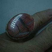 Украшения ручной работы. Ярмарка Мастеров - ручная работа Элегантное кольцо ЯШМА,серебрение.. Handmade.