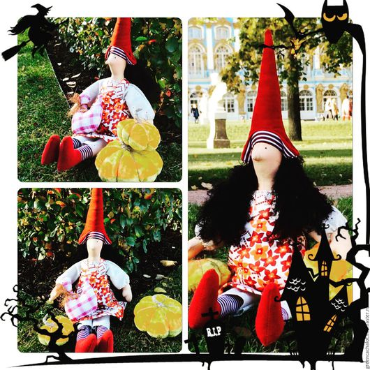 Куклы Тильды ручной работы. Ярмарка Мастеров - ручная работа. Купить Ведьмочка Тильда. Handmade. Тильда, кукла ручной работы
