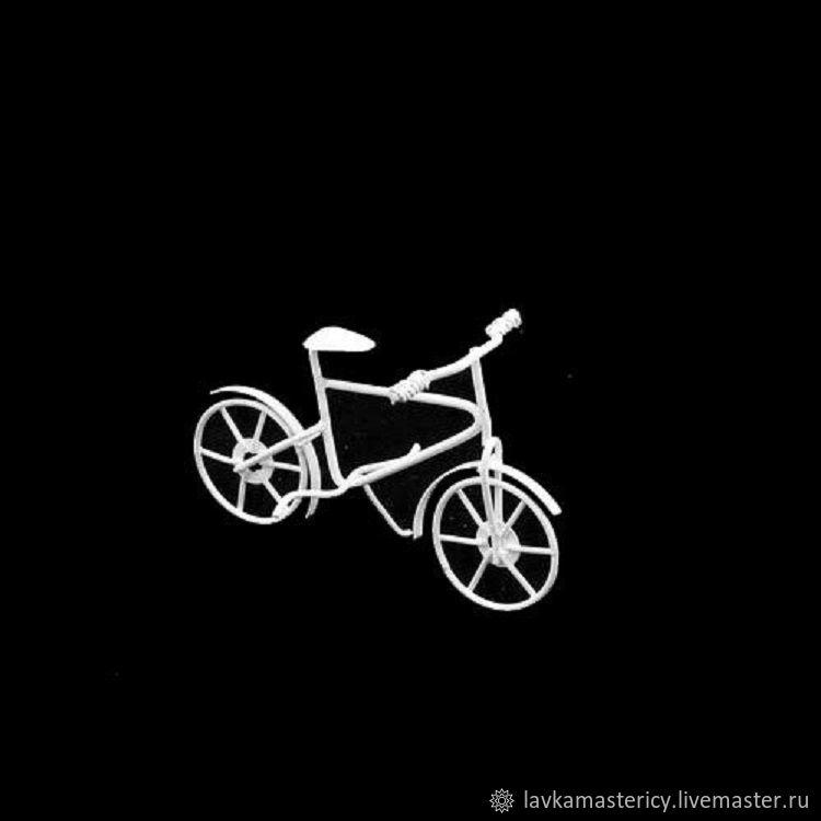 Миниатюра - Металлический велосипед, Фурнитура для кукол и игрушек, Балашиха,  Фото №1