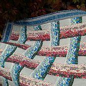 Для дома и интерьера ручной работы. Ярмарка Мастеров - ручная работа Лоскутное одеяло Ожидание зимы. Handmade.