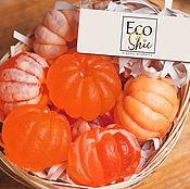 Для дома и интерьера handmade. Livemaster - original item Basket of tangerines. Organic souvenir soap. Handmade. Handmade.