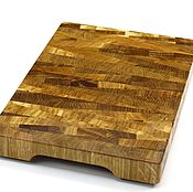 Для дома и интерьера handmade. Livemaster - original item End cutting Board №128. Handmade.