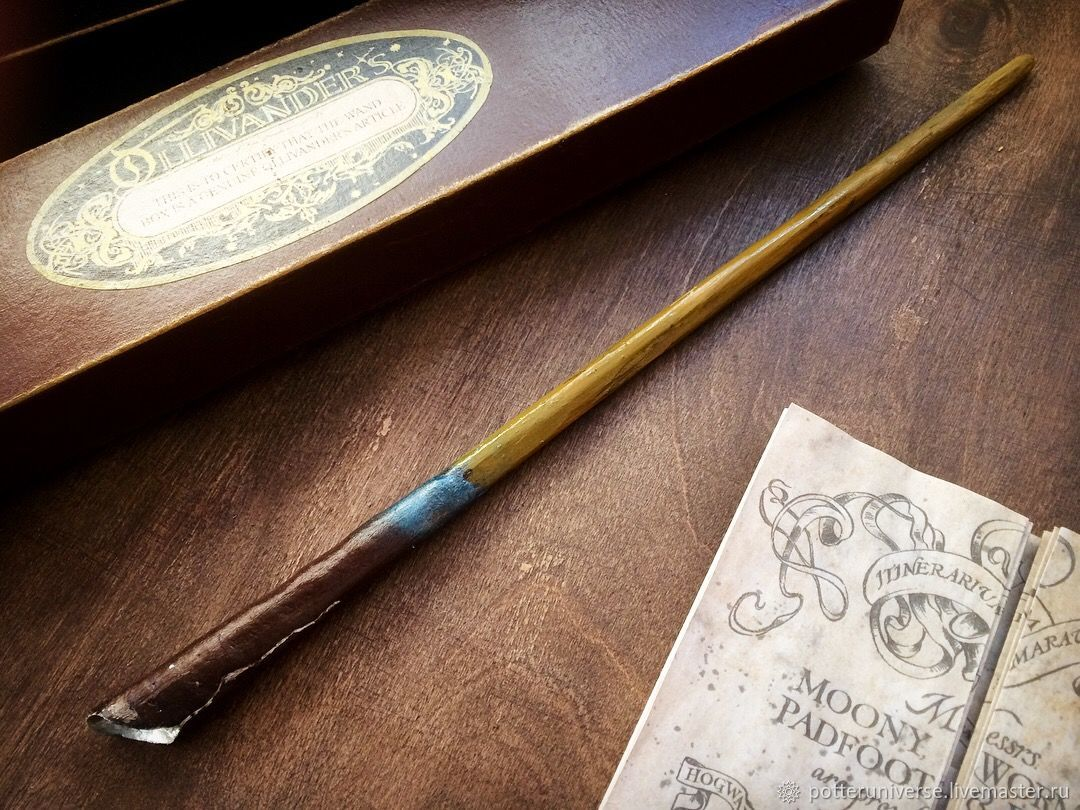 Newt scamander magic wand shop online on livemaster with for The master wand