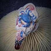 """Украшения ручной работы. Ярмарка Мастеров - ручная работа Кольцо """"Blue Crab. Kani-soup"""".. Handmade."""