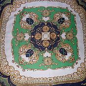 Аксессуары винтажные ручной работы. Ярмарка Мастеров - ручная работа Платок в барочном стиле,100% шелк,Австрия. Handmade.
