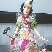 Куклы и игрушки ручной работы. Ярмарка Мастеров - ручная работа Грустная Коломбина. Handmade.