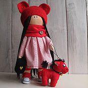 Куклы Тильда ручной работы. Ярмарка Мастеров - ручная работа Текстильная кукла Маша. Handmade.