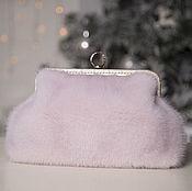 Сумки и аксессуары handmade. Livemaster - original item Clutch mink. Handbag made of mink fur. Mink bag. Fur clutch bag.. Handmade.