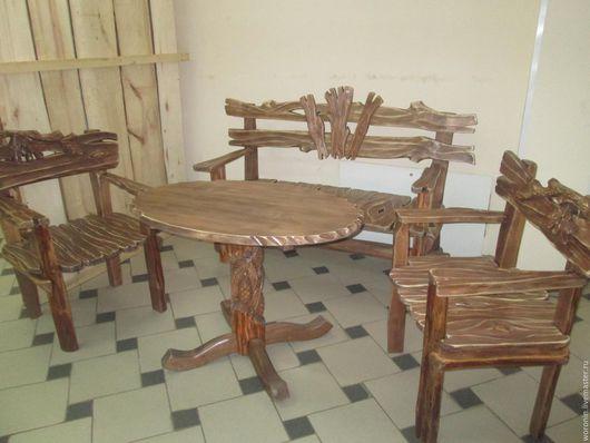 Мебель ручной работы. Ярмарка Мастеров - ручная работа. Купить Мебель для бани и дачи. Handmade. Коричневый, мебель для бани