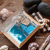 """Косметика ручной работы. Ярмарка Мастеров - ручная работа Набор мыла """"Морской"""". Handmade."""