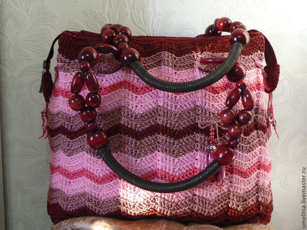 Вязанная сумочка своими руками 796