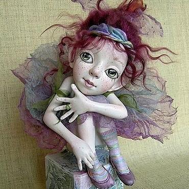 """Куклы и игрушки ручной работы. Ярмарка Мастеров - ручная работа Кукла """"Чертополошка"""". Handmade."""