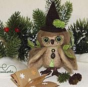 Куклы и игрушки handmade. Livemaster - original item Owl - a little fairy. Handmade.