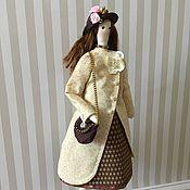 Куклы Тильда ручной работы. Ярмарка Мастеров - ручная работа Кукла Джулия в стиле Тильда. Handmade.