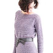 Одежда handmade. Livemaster - original item Dress crochet handmade Purple haze. Handmade.