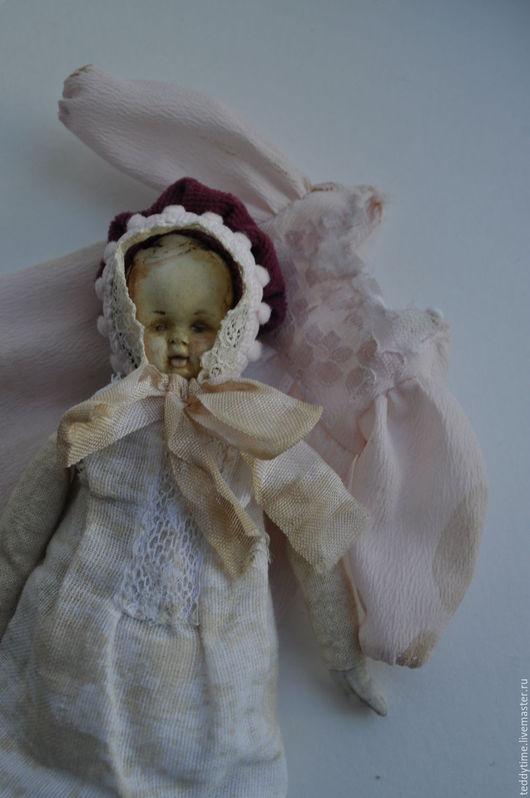 Ретро. Кукла старинная. Восковая кукла. Авторские игрушки Марии Морозовой.
