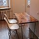 Мебель ручной работы. Ярмарка Мастеров - ручная работа. Купить Стол из массива  дуба. Handmade. Обеденный стол, массив дерева