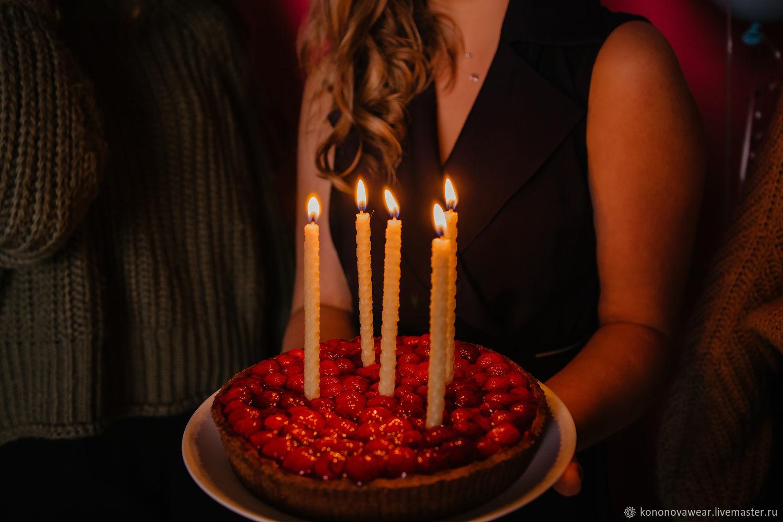 """Набор """"Праздничный торт"""", Свечи, Мурманск,  Фото №1"""