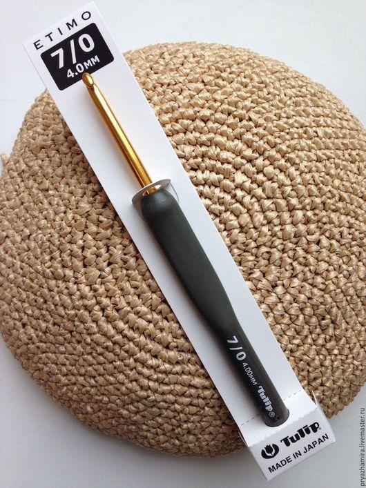 Вязание ручной работы. Ярмарка Мастеров - ручная работа. Купить tulip Gold #4 японский крючок. Handmade. Крючком, крючки