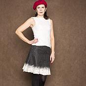 Одежда ручной работы. Ярмарка Мастеров - ручная работа Валяная юбка. Handmade.