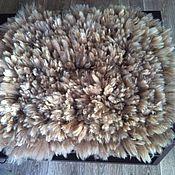 Для дома и интерьера ручной работы. Ярмарка Мастеров - ручная работа Валяный коврик, аксессуар для фотосессии. Handmade.