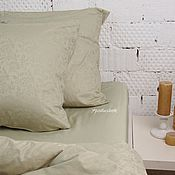 Для дома и интерьера handmade. Livemaster - original item Cotton bedding. Satin bedding. Linen duvet cover set. Handmade.