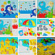 Educational book of the SEA. Cubes and books. Children's mood. Online shopping on My Livemaster.  Фото №2