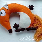 Куклы и игрушки handmade. Livemaster - original item pillow toy fox alice. Handmade.