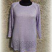 handmade. Livemaster - original item Tunic Lilac. Handmade.