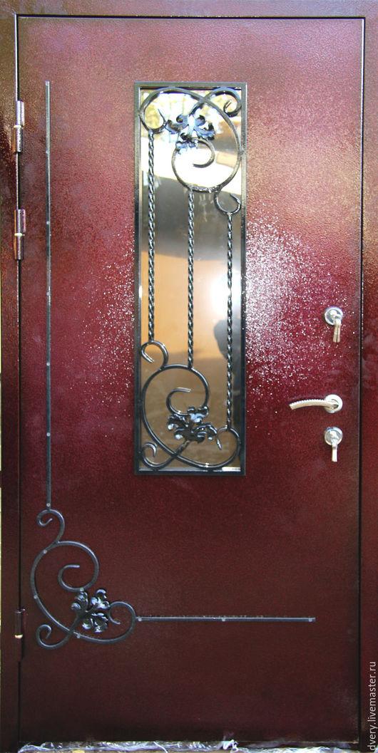 Элементы интерьера ручной работы. Ярмарка Мастеров - ручная работа. Купить Металлические двери с ковкой. Handmade. Двери, металл