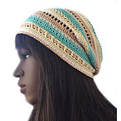 Аксессуары handmade. Livemaster - original item Litia`s Cap. Handmade.