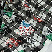 Ткани ручной работы. Ярмарка Мастеров - ручная работа Хлопок сатин с эластаном, Италия. Handmade.