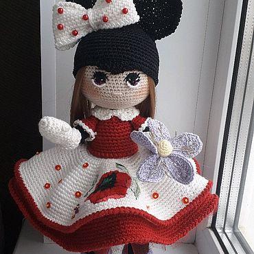 Для дома и интерьера ручной работы. Ярмарка Мастеров - ручная работа Вязаная кукла интерьерная. Handmade.
