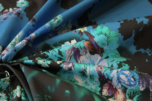 Шитье ручной работы. Ярмарка Мастеров - ручная работа. Купить 20901 итальянский купонный коттон. Handmade. Комбинированный, итальянский лен